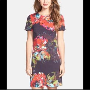 Trina Turk Bengaline Floral Shift Dress